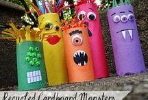 Kids Crafts - Tissue roll / 'Shine Kids Crafts' - a shop with special craft supplies / kits at wholesale price https://www.etsy.com/hk-en/shop/ShineKidsCrafts