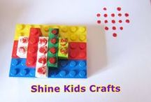 Kids Crafts - Stamps / 'Shine Kids Crafts' - a shop with special craft supplies / kits at wholesale price https://www.etsy.com/hk-en/shop/ShineKidsCrafts  / by Shine Kids Crafts