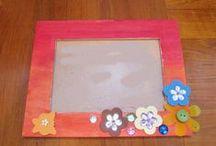 Kids Crafts - DIY photo frames / 'Shine Kids Crafts' - a shop with special craft supplies / kits at wholesale price https://www.etsy.com/hk-en/shop/ShineKidsCrafts
