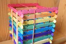 Kids Crafts - Lollipop Popsicle sticks / 'Shine Kids Crafts' - a shop with special craft supplies / kits at wholesale price https://www.etsy.com/hk-en/shop/ShineKidsCrafts