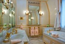 Bathroom Decor / Browse bathroom designs and decorating ideas here. Discover inspiration for your bathroom. Living a better life, start with Beddinginn.com.