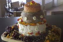 Cheese Cakes / For weddings, birthdays or any party, we can create a custom-designed cheese cake for you.
