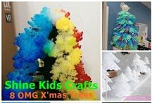 Kids Crafts - X'mas Crafts / 'Shine Kids Crafts' - a shop with special craft supplies / kits at wholesale price https://www.etsy.com/hk-en/shop/ShineKidsCrafts  / by Shine Kids Crafts