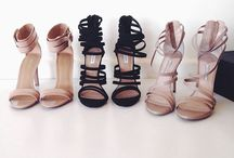 Flats,wedges and toes / Give a woman the right pair of shoes and she'll conquer the world!