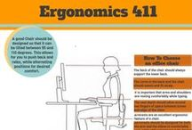 Eco Office Exercise / Ecology Sponsor - consider biodegradable purchases for the office and recycling options. Maintain your exercise while at work. Check out how you can exercise while sitting.