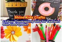 Teacher Appreciation Gifts / 'Shine Kids Crafts' - a shop with special craft supplies / kits at wholesale price https://www.etsy.com/hk-en/shop/ShineKidsCrafts  / by Shine Kids Crafts