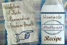 Diy Toothpaste & Mouthwash