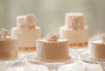 cupcake cake / mini cakes