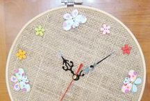Kids Crafts - Embroidery / Stitchery Hoop Crafts / 'Shine Kids Crafts' - a shop with special craft supplies / kits at wholesale price https://www.etsy.com/hk-en/shop/ShineKidsCrafts  / by Shine Kids Crafts