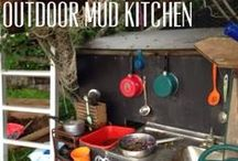 Outdoor play / Fun ideas for the kids to play with outside