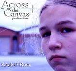 Sarah O'Brien / Sarah O'Brien Actress & Model on Blank Surfaces