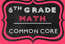 6th Grade Math COMMON CORE / 6th grade math engaging resources aligned to the common core . Number Sense, Expressions, Equations, Ratios, Proportions, Statistics,  Probability, & Geometry
