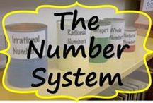 The Number System / Engaging worksheets, task cards  and activities that include rational numbers (positive and negative fractions and decimals).