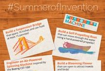 #SummerOfInvention / A series of 8 design challenges inspired by summer! Learn more at: https://www.curiositymachine.org/units/8/
