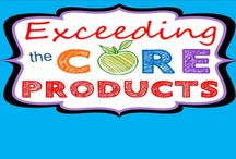 Exceeding the CORE TpT Store / Exceeding the Core TpT Store.  Math resources, lessons and activities aligned to the common core.  Resources include math worksheets, assessments, error analysis, task cards, problem solving graphic organizers, mazes, riddles, coloring activities and more.