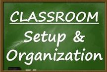 Classroom Setup and Organization / Strategies and tips for organizing your math classroom! Including centers, bulletin boards files and homework bins.
