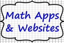 Math Apps and Websites / Math applications and math websites that can be used to support student learning.