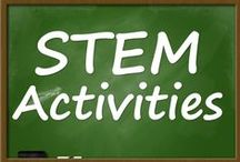 STEM Activities / Great classroom activities that promote science, technology, engineering, and mathematics (STEM) .