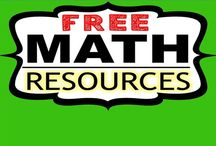 FREE Math Resources / Find FREE MATH resources for all grades from TpT authors. Email me at exceedingthecore@gmail.com if you would like to join this board. Please remember this board is only for FREE resources. Feel free to pin up to five FREE resources per day.   Happy Pinning!!