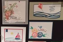 Stampin' Up! Bundles / Projects created with Stamp Set and Punch or Die Bundles
