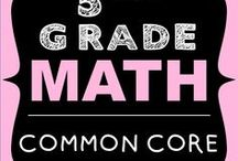 5th Grade Math COMMON CORE / 5th grade math - Engaging resources aligned to the common core. Operations and Algebraic  Thinking (5.OA), Number and Ooerations in Base Ten (5.NBT), Fractions (5.NF), Measurement and Data (5.MD), Geometry (5.MD)