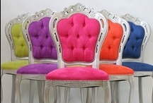 Chairs with attitude / Extraordinary, beautiful chairs and sofas