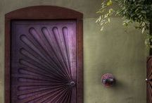 the different colored doorways... / ...you thought would let you in one day / by Hilary Walker