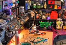 Art - Studio & supplies / Art studios that inspire and supplies to die for