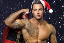 Hot Christmas / Male models ready for a very hot Christmas