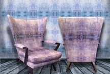 Blackpop Furnishings / Upholstered Furniture, Blackpop re-vamps period pieces of furniture from their deeply textured velvet fabric range. If you have a family air -loom in waiting we can arrange for it to be beautifully upholstered in one of Blackpop's award winning fabric designs.