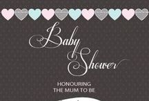 Baby Shower Invitations, baby shower for boys, baby shower for girls / Baby shower invitations to inspire you for the mum to be!