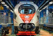 Железные дороги / Поезда и рельсы
