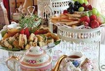 Tea Party / The mere chink of cups and saucers turns the mind to happy repose - Author: George Gissie
