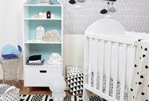 Chambre des enfants / Les enfants ont eux aussi besoin d'une belle décoration pour se sentir bien chez eux. Voici mes idées pour qu'ils créent leur propre univers.
