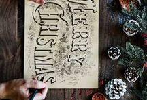 Noël Around The Corner / Inspiration déco de Noël DIY, bricolage pour les fêtes de fin d'année. Idées de décoration intérieur pour une jolie table de Noël et un sapin majestueux