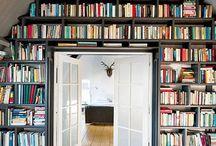 Étagères, bibliothèques / Confectionné pour vous, un tableau d'étagères et de bibliothèques inspirantes et originales, pour ranger vos plus beaux livres. Plein de belles idées de bibliothèques vous attendent !