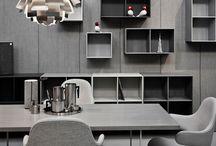 Gris / Gray interior home design / Intérieur Gris architecture décoration d'intérieur