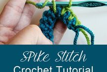 Stitches / The how-to on all the crochet stitches.  Happy Crocheting, TenderHeart Shop.   Get the perfect crochet kit (35 items included!) on our website: www.tenderheartshop.com