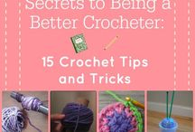 Crochet Tips & Tricks / Advance your crafty crochet skills with these crochet tips & tricks.  We love hearing your tips & tricks too!  Pin your great ideas to this board!  Happy Crocheting, TenderHeart Shop.   Get the perfect crochet kit (35 items included!) on our website: www.tenderheartshop.com