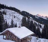 Chalet, Deco de Montagne / Chalets and Mountain Home - Interior - Design Ideas Decoration montagne style chalet