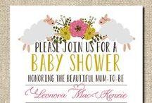 Baby shower/nursery ideas / Hopefully I'll be an aunty soon!