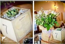 Hand painted stuff / Hand painted signs and boxes I've done for weddings