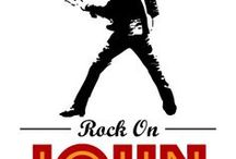 King of Rock!! Elvis Party Ideas / Elvis themed birthday party ideas, decorations and invitation, invites, invitations and gift ideas,  Elvis party
