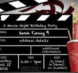 Movie Party Ideas / Movie themed party ideas & invitations for boys & girls .