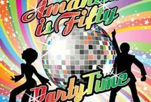 Groovy 70's Disco Ideas! / Groovy 70's disco ideas for your party! Disco birthday party theme, 70's disco invitations, Invitations to inspire your theme.