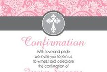 Communion & Confirmation Ideas / Communion & Confirmation Party ideas to celebrate the spiritual milestone for both for boys & girls