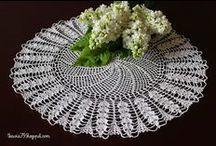 Serwetki szydełkowe - Doily crochet / Decor home (handmade)