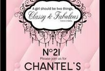 Coco Chanel Party Theme / Coco Chanel party theme for those girls that like celebrate with style. A girl should always be 2 things Classy & Fabulous! -coco chanel....  Birthday invitations, Ladies invitations