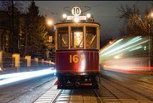 Трамваи и другой городской транспорт / Городской транспорт тоже бывает красив