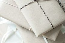 Gift wrapping / Gift packaging